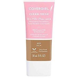 COVERGIRL, Clean Fresh Skin Milk Foundation, Rich
